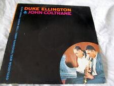 DUKE ELLINGTON JOHN COLTRANE STEREO 1982 LP BRAZIL JAZZ BLUES NM