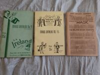 Lot of 3 L.L. IRELAND MAGIC CATALOG no 9, no 15, and 1959