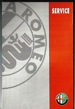 Alfa Romeo GTV Spider cuaderno de servicio Service Book servizi EXUBERA 04/1995 60492144