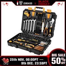 DEKO 158 PCS Tool Set  Auto Repair Tool Set  General Household Hand Tool Kit
