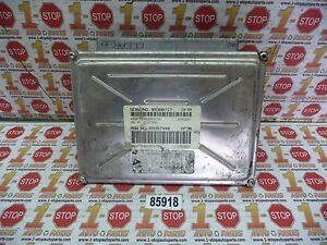 2000-2002 CHEVROLET CAMARO 3.8L ENGINE COMPUTER ECU ECM 09380717 DFTM OEM