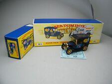 Matchbox MoY C2 Y65 Lieferwagen dunkelblau 1997 aus M4 Set sehr selten OVP K13