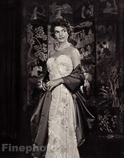 1960/83 Vintage 11x14 JACQUELINE KENNEDY Fashion Glamour Portrait ~ YOUSUF KARSH