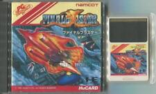 PC-Engine Hu CARD PCE FINAL BLASTER NAMCOT NAMCO JAPAN JAPANESE GAME