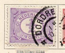 Países Bajos 1898-99 rápida de los problemas Fine Used 1/2c. 119378