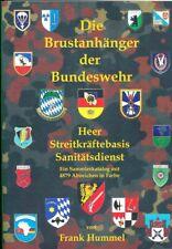 Buch Bundeswehr Brustanhänger 2019 - Heer, Streitkräftebasis, Sanitätsdienst