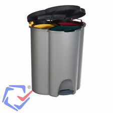 Recycle Bin Capacity: 40l Three containers Curver 177858 Made of ABS Plastic