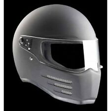 "Casco BANDIT ""Fighter"" Integral Homologado Negro Mate - Blanco"