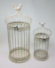 Vintage Style Bird Cage Duo, Wedding Centerpiece Bird Cages, Vintage Decoration