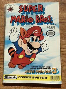Super Mario Bros. #1  (Valiant Comics 1990) (NEAR MINT CONDITION!)