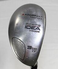 """Adams IDEA Wood 3 Iron 17°Adams Idea Aldila SuperShaft High Launch 42"""" RH Men's"""