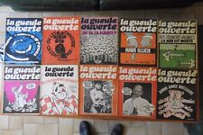 LA GUEULE OUVERTE : 55 numéros rarissimes