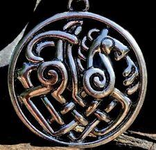 Silver Plate Celtic Horse Pendant Necklace