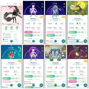 Pokémon Account Go Level 41 | 183 Shiny(Rare)| 368 Legendary(Rare)| 67,4*Pokemon