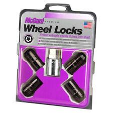 McGard Black Cone Seat Wheel Locks Set (M14 x 1.5 Thread Size) - 4 Locks & 1 Key