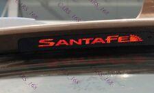 Amazing Carbon Fiber Break Light Stickers Adhesive Graphic For Hyundai Santa Fe