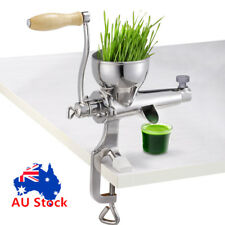 Stainless Steel Wheatgrass/ Wheat grass Manual/ Hand operated Juicer