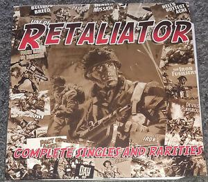 RETALIATOR COMPLETE SINGLES + 4 Skins The Head rockorama ISD Condemned84 Oi RARE