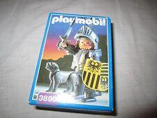 playmobil nr 3890 ridder met hond ,neu/new