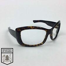 GIORGIO ARMANI eyeglass TORTOISE WRAP AROUND frame Authentic. MOD: GA 53/STRASS