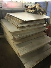 Peg Board Large Sheets .25� Thick Nos Salvage Cleveland 31� X 47�