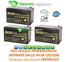 KIT BATTERIE 36V 12Ah GEL/AGM CICLICHE DEEP-CYCLE BICI ELETTRICA - 6 DZM 10-12
