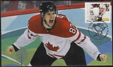 CANADA # 2942.08 SID CROSBY HOCKEY STAMP on FIRST DAY COVER