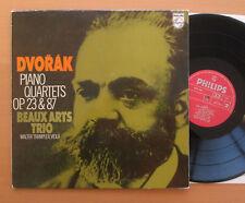 SAL 6500 452 Dvorak Piano Quartets OP. 23 & 87 Beaux Arts Trio 1972 EXCELLENT