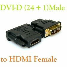 DVI-D MALE TO HDMI FEMALE ADAPTER CONNECTOR CONVERTER A++