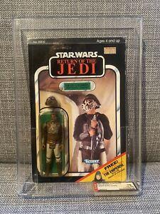 Lando Skiff Guard Star Wars Return of the Jedi Kenner MOC 1983 65 back AFA Grade