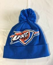 0beb7b6c3b1 Oklahoma City Thunder adidas NBA Winter Pom Knit Hat Cap Toque Beanie OSFA