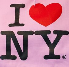 I Love NY T-Shirt Pink Adult Unisex Authentic From New York City !