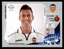 Panini Liga de Campeones 2012-2013 João Pereira Valencia CF no. 392