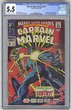 Marvel Super-Heroes #13 CGC 5.5 VINTAGE KEY 1st Carol Danvers 2nd Captain Marvel