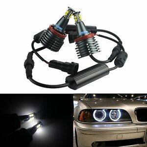 H8  LED Angel Eyes Feu de position BMW e60 e61 e71 e70 LCI e90 e91 x5 x6 z4