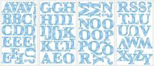 """RoomMates Blue Polka Dotted 2.5"""" Peel and Stick Letters RMK1252SCS"""