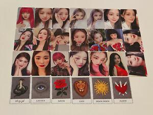 (G)i-dle I Burn Official photocard postcard sticker gidle g idle
