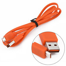 Micro USB Rápido Charger Flat Cable -cord para JBL Flip 3 4 Pulse 2 Charge 1 2 3