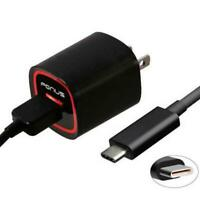 18W ADAPTIVE FAST HOME CHARGER 6FT TURBO USB TYPE-C CABLE for PHONE / TABLETS