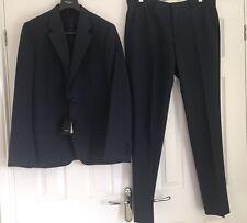 "Paul Smith London Mayfair Men's Blue Pinstripe Suit Eu 54 44"" Rrp £730 New"