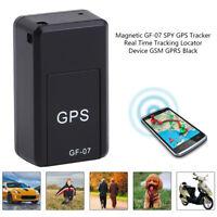 GF07 mini GPS en temps réel voiture localisateur Tracker magnétique GPRS/GSM