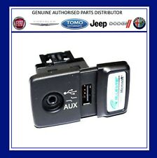 NUOVI ORIGINALI FIAT 500 PANDA PUNTO Blue & Me USB Media Player presa AUX. 735547937