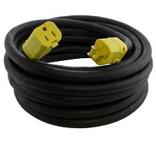 50ft 10 Gauge NEMA 5-15 15A Over Kill Super-Duty Extension Cord by AC WORKS®