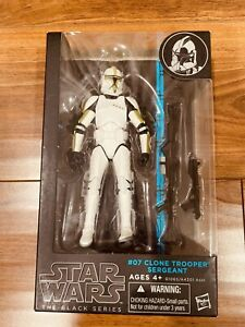Star Wars Black Series Clone Trooper Sergeant Green Stripe 6-inch
