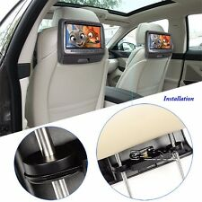 "9 ""LED Touch Screen Car Headrest  DVD Player Monitor With USB/HDMI/CD/IR/FM/Game"