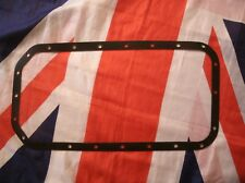 TRIUMPH TR5 TR250 TR6 NEW HEAVY DUTY PERFORATED RUBBER SUMP GASKET 1963 to 1977