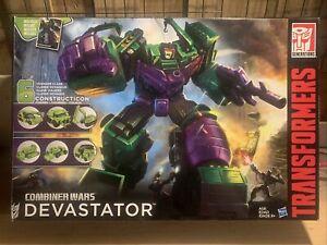 Transformers Generations Combiner Wars CW DEVASTATOR Constructicons Complete AIB