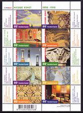 Nederland NVPH 1974-1983 Vel Nieuwe Kunst 2001Postfris