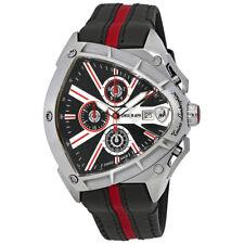 Lamborghini Spyder 9000 Black Dial Mens Chronograph Watch 9001