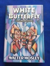 WHITE BUTTERFLY - FIRST EDITION SIGNED BY WALTER MOSLEY